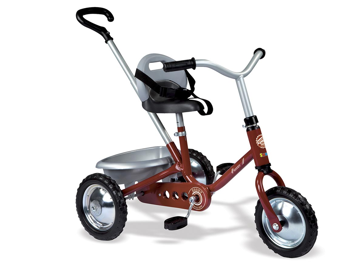 Tricycle Enfant zooky classique rouge smoby