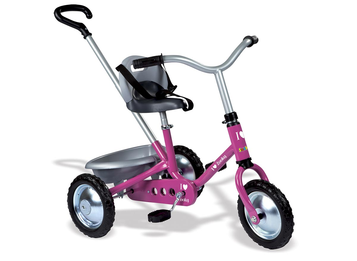 Tricycle enfant Zooky Classique Fille SMOBY