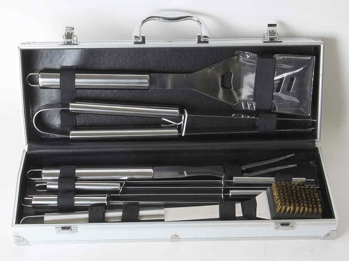 somagic  Malette de 8 accessoires inox pour barbecue et plancha Malette... par LeGuide.com Publicité
