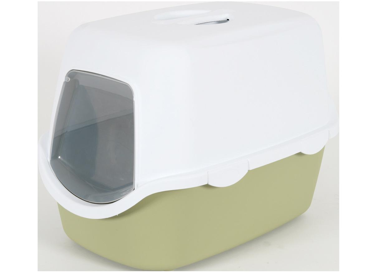 Caisse à litière Cathy pour Chat - Vert