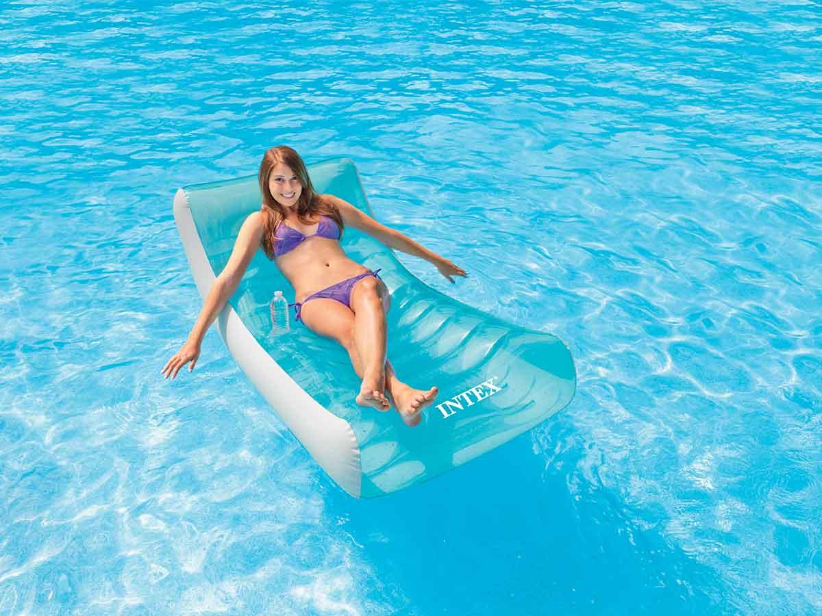 Chaise longue de piscine Lounge Ghost - Intex