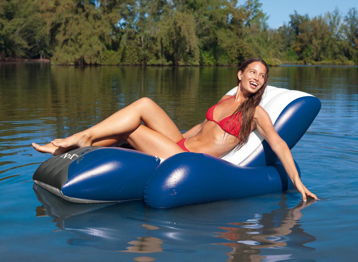 Chaise longue de piscine Deluxe - Intex