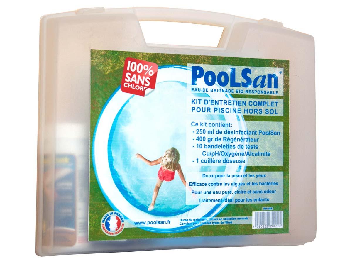 Kit de traitement sans chlore pour piscine de 5 à 20 m³