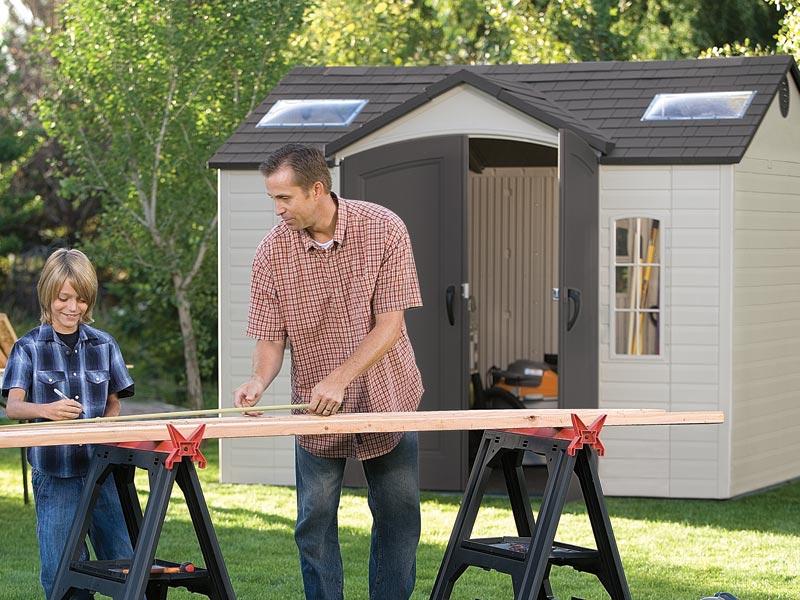 Abri de jardin PVC Element 60005 - 7,44 m² pour 2129€