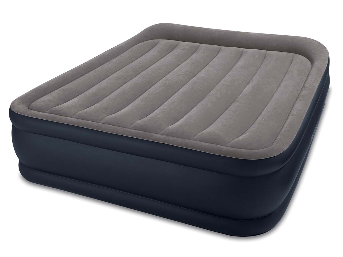 Matelas Gonflable deluxe rest bed fiber tech 2 places - intex