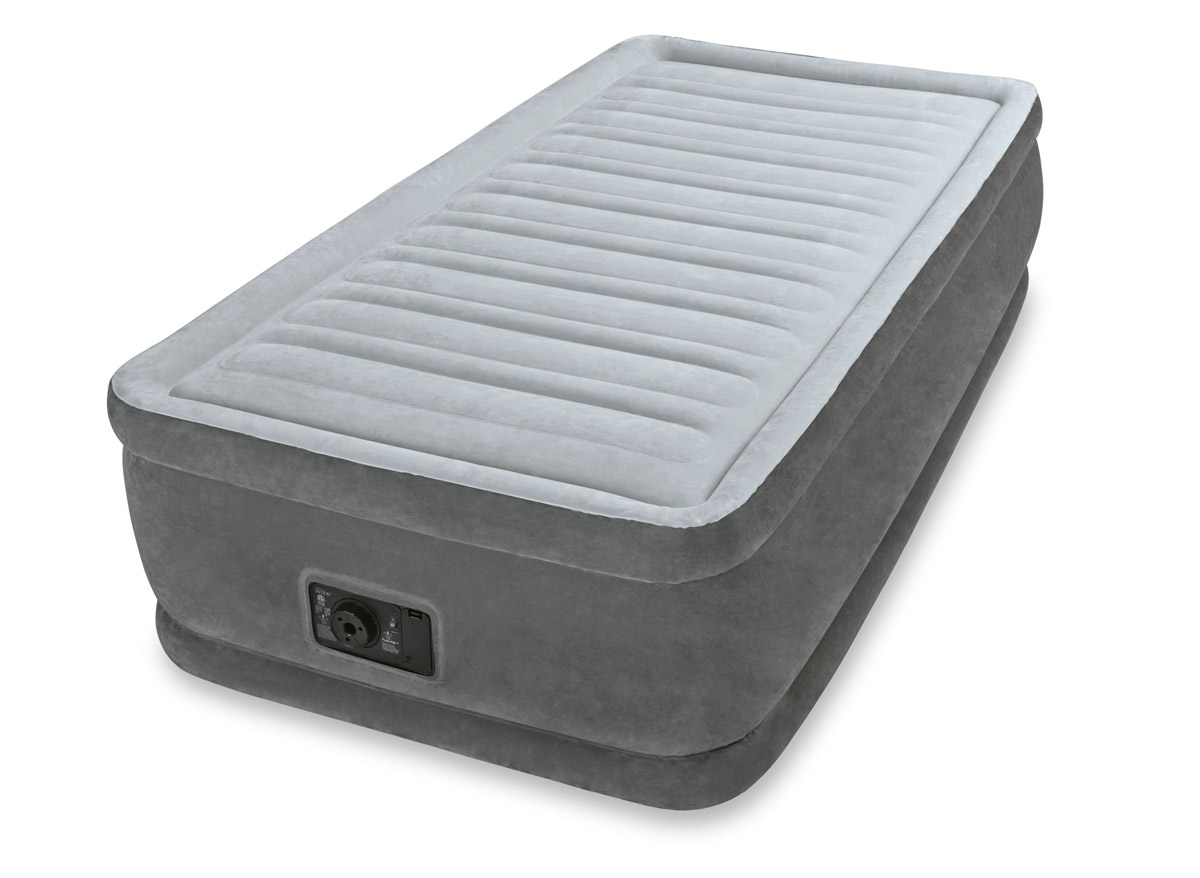 Matelas Gonflable comfort plush fiber tech 1 place - intex