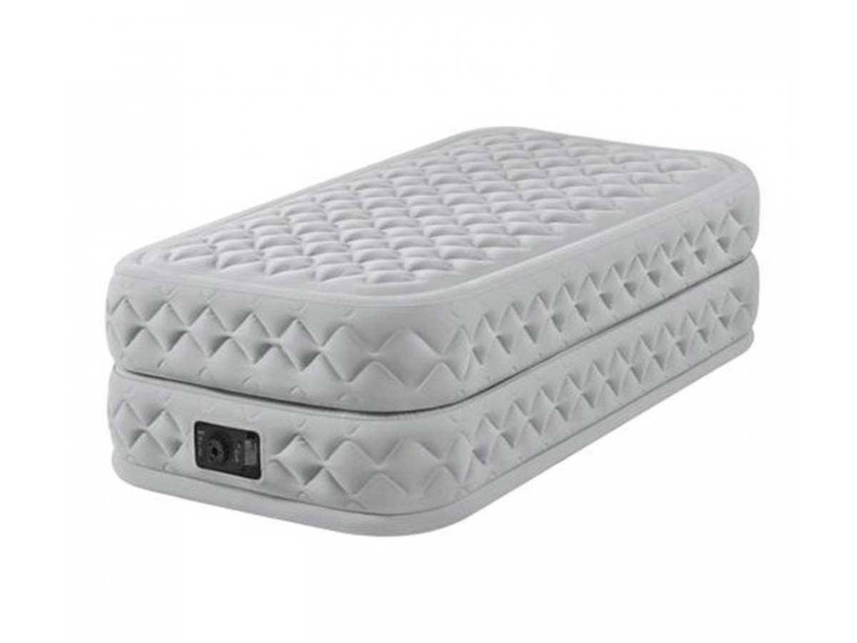 Matelas gonflable Supreme Fiber Tech 1 place Intex