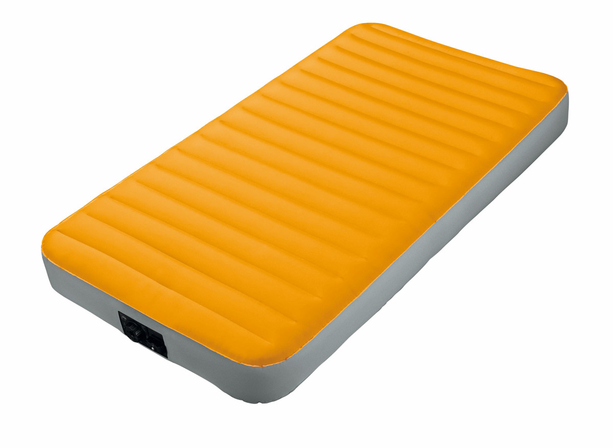 Matelas de camping 1-2 places fiber tech - intex