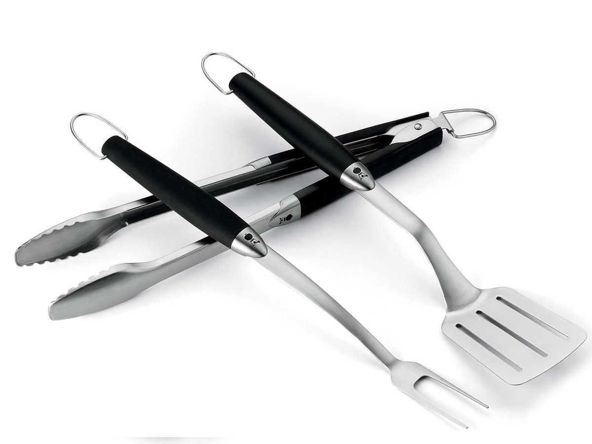 weber  Set de 3 ustensiles en inox Weber Kit de 3 ustensiles en inox. Une... par LeGuide.com Publicité