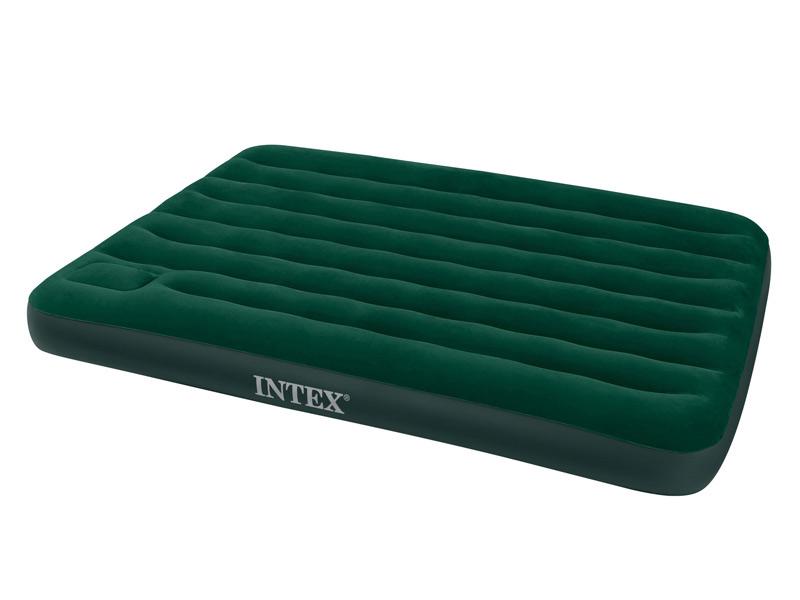 Matelas d'appoint Classic INTEX 2 places vert pour 23€