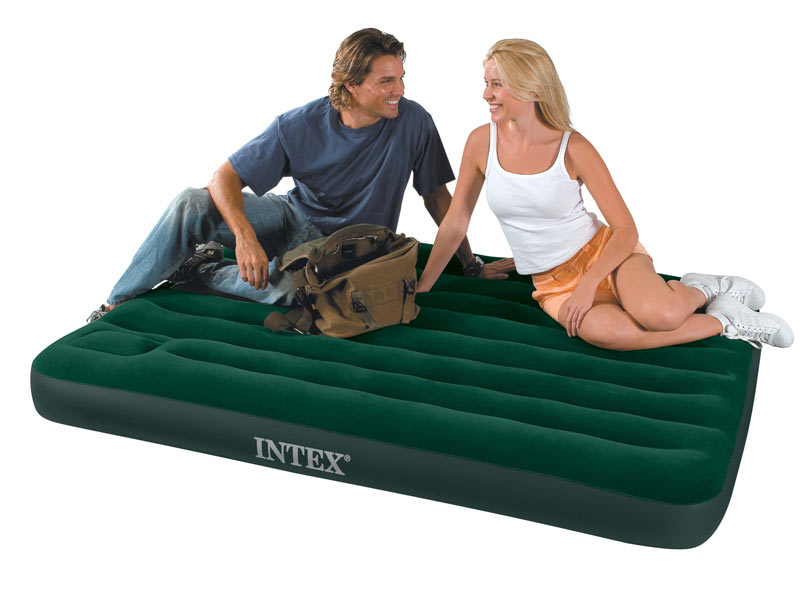 Matelas de camping classic 2 places - intex