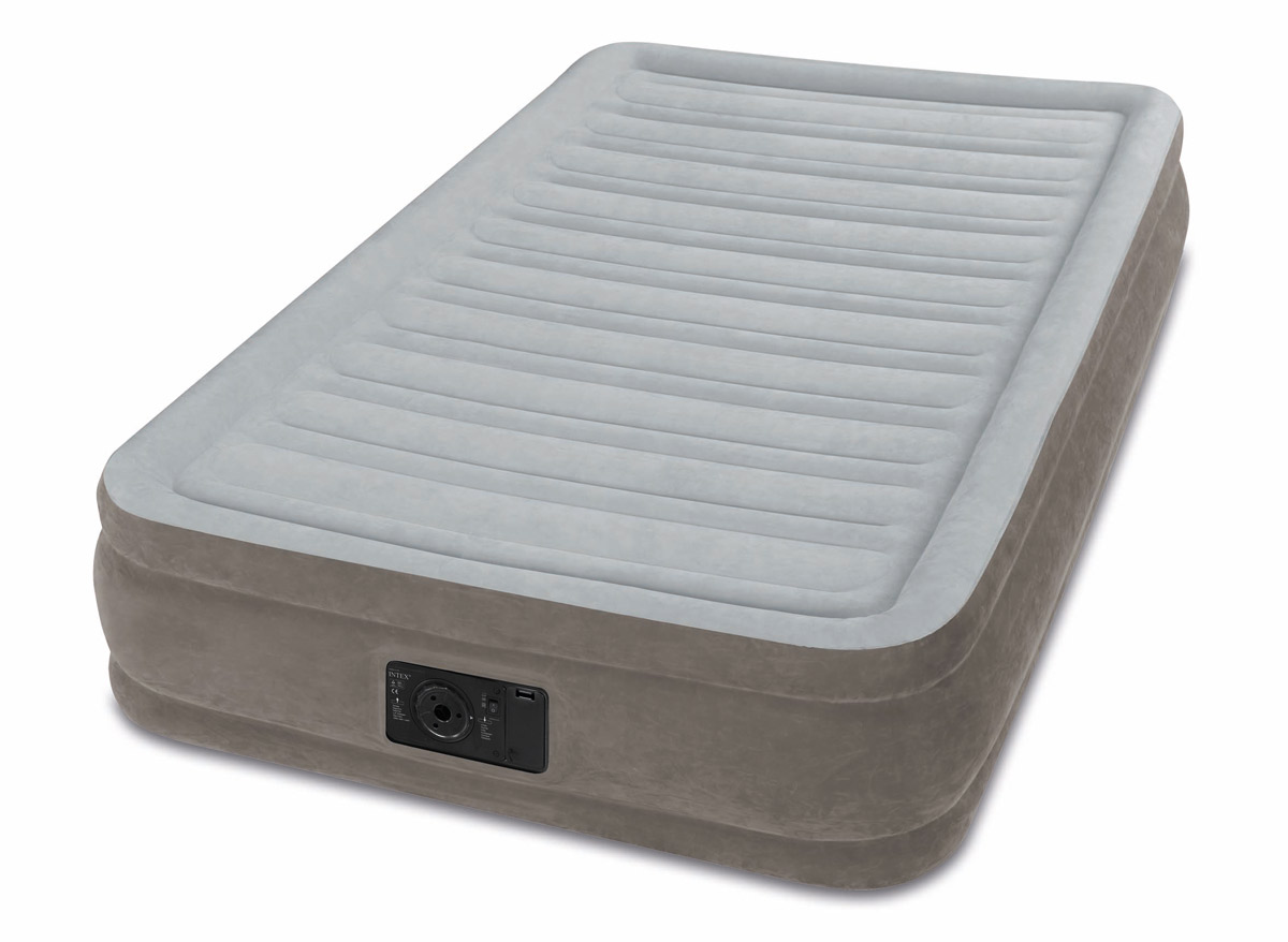 Matelas gonflable Grand Confort Fiber Tech 1 place - Intex