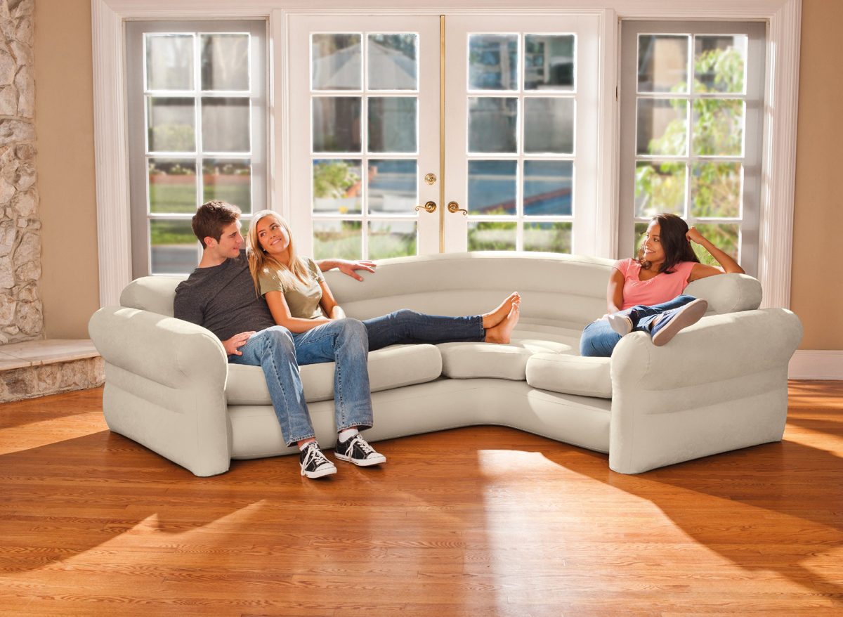 Canapé Sofa d'angle gonflable - intex