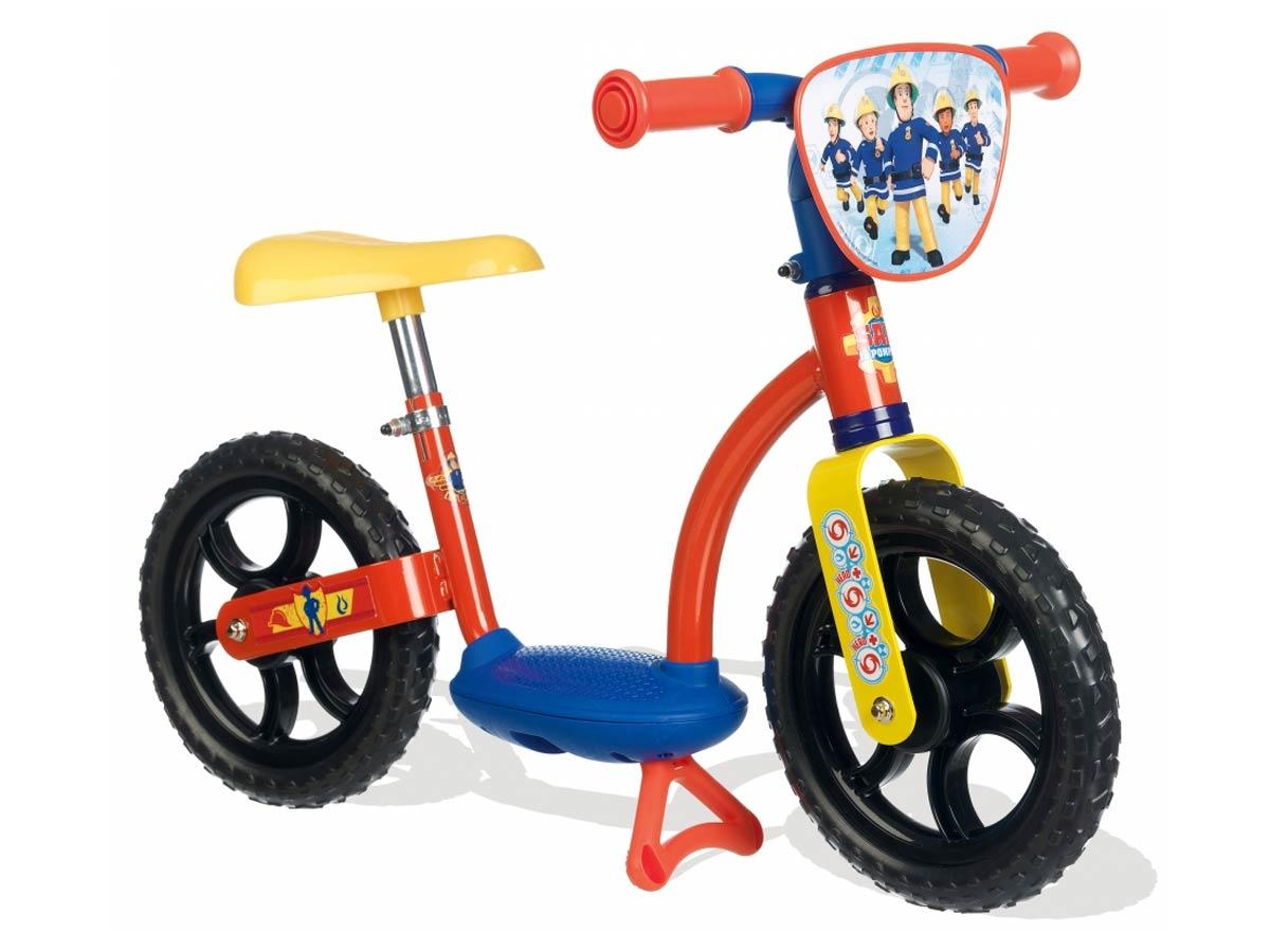 Draisienne Vélo sans pédales sam le pompier