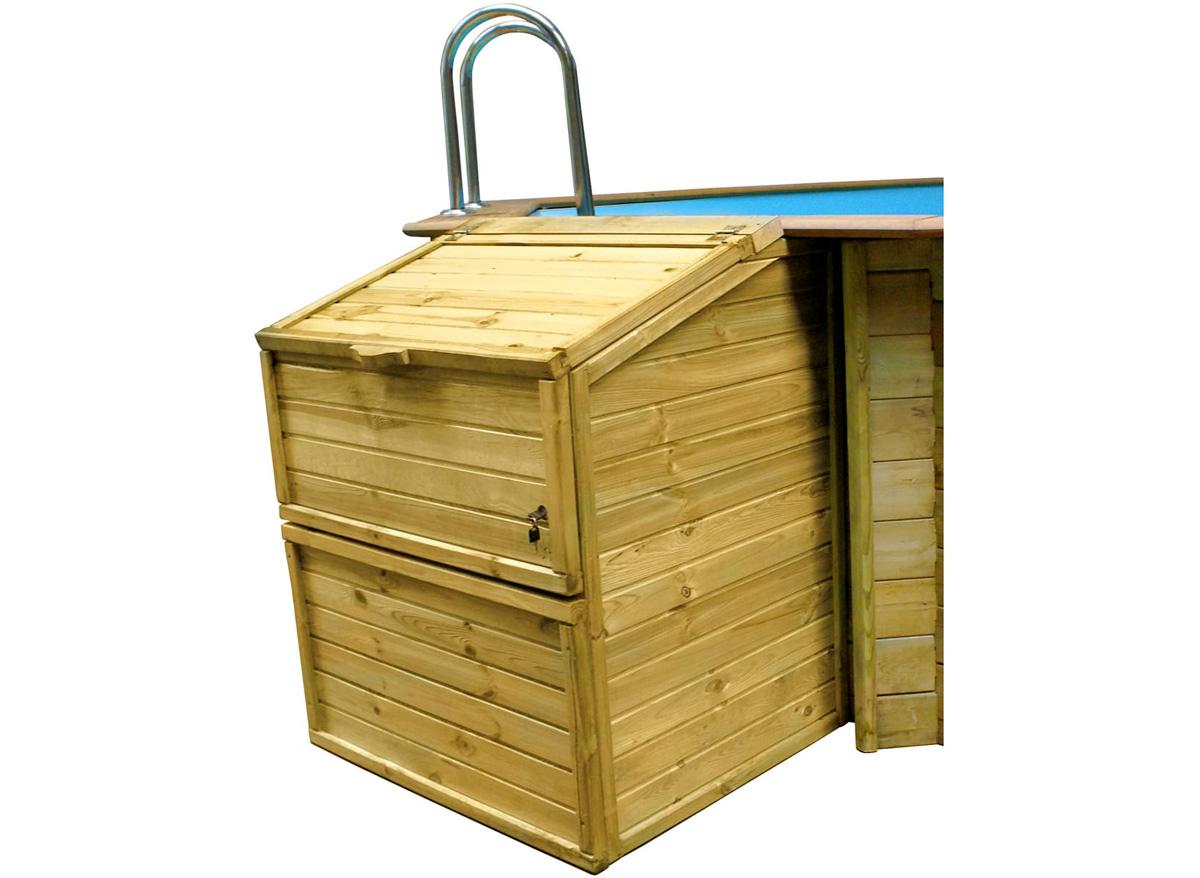 Coffre de filtration piscine hauteur 1,46 m - Sunbay