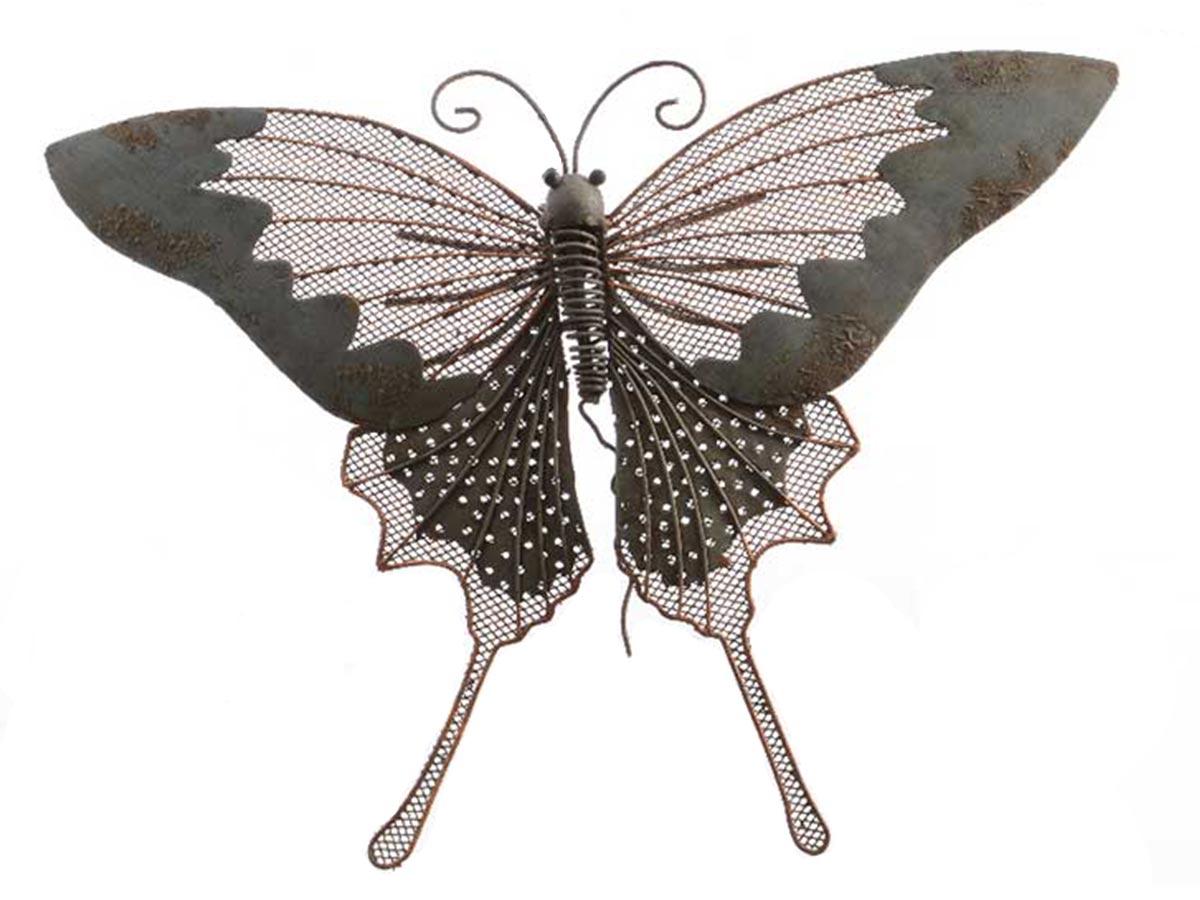 Papillon décoratif en métal