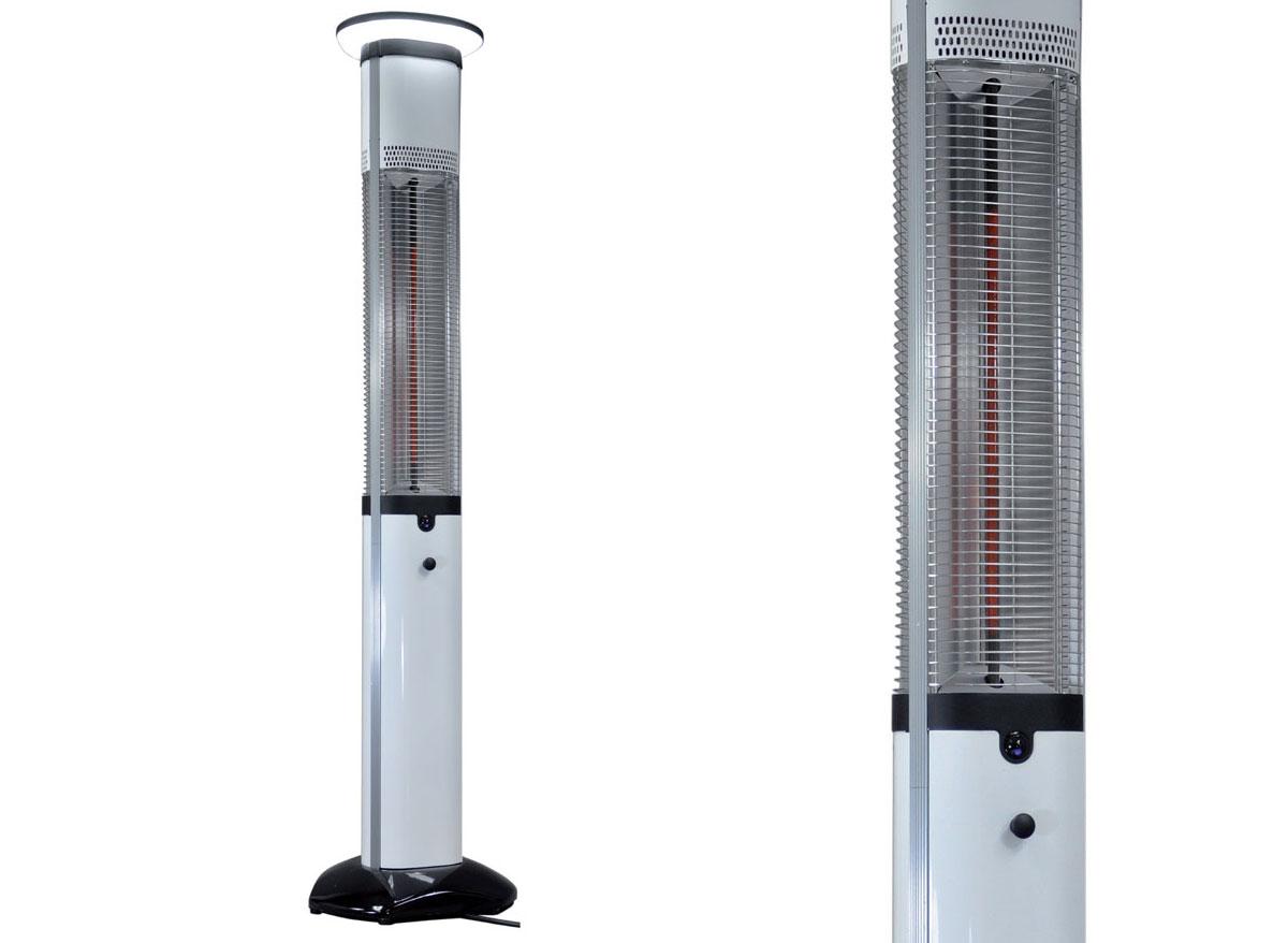 Chauffage terrasse électrique Elégant + éclairage