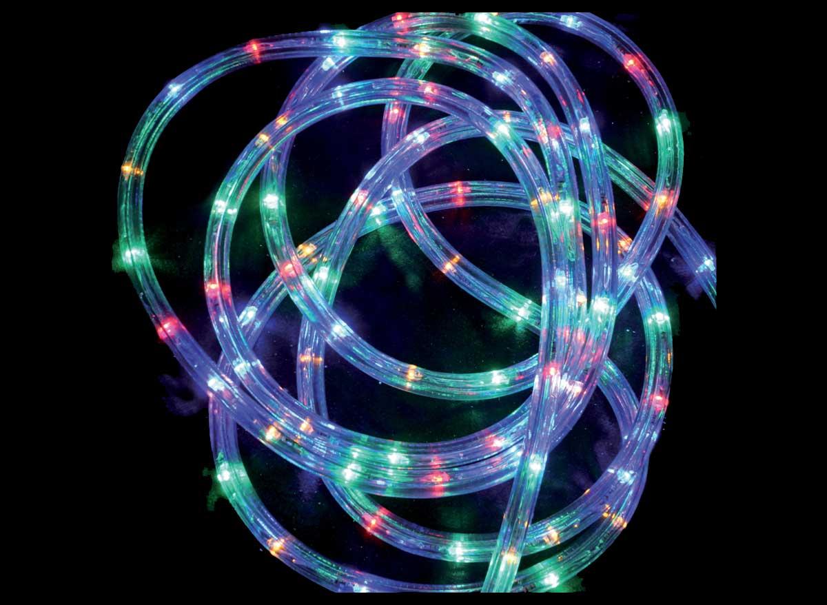 Guirlande lumineuse extérieur Tube LED 8 fonctions 24 m Multicolore