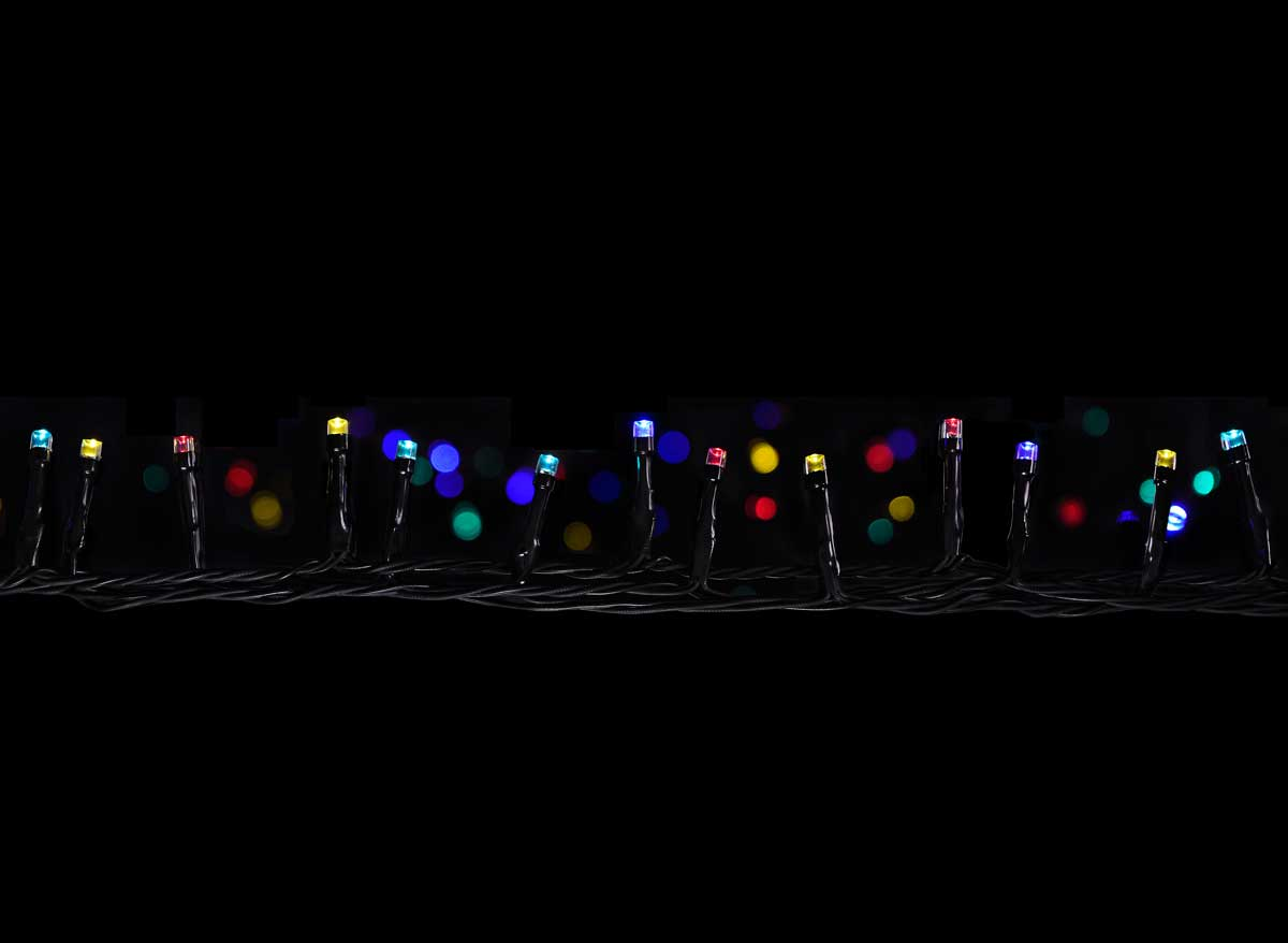 Guirlande lumineuse programmable 48 LED Multicolore