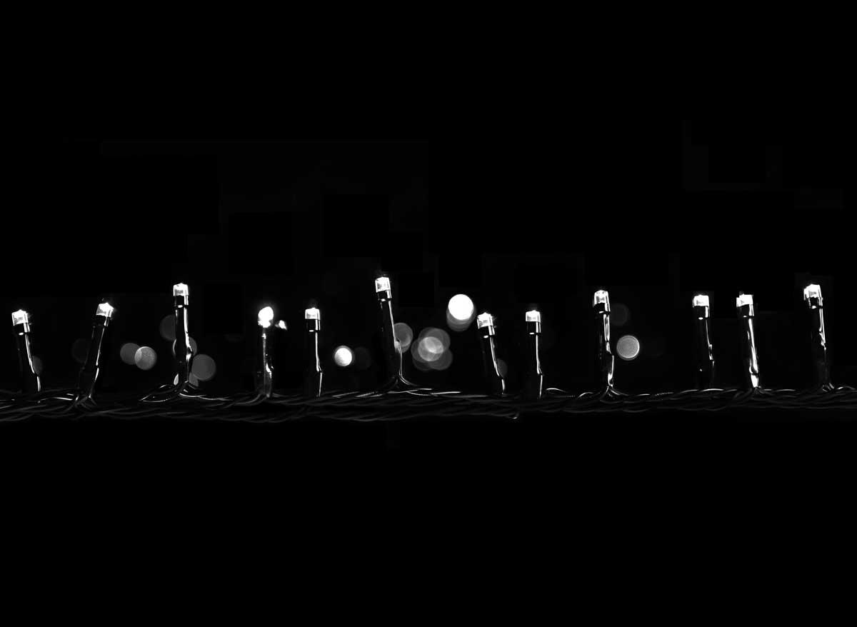 Guirlande lumineuse programmable 48 LED Blanc