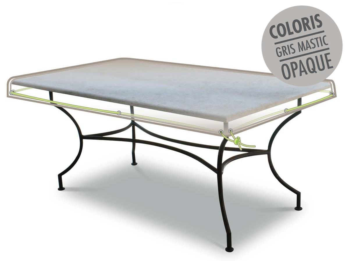 Housse de protection pour plateau de table 210 x 100 x10 cm