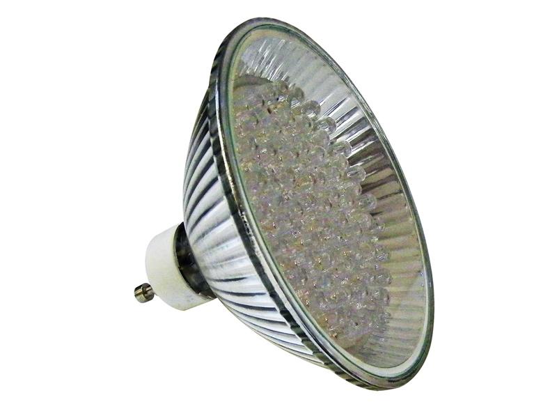 Ampoule LEDS Rouge 3W MR30 GU10 - réf 66873 EASY CONNECT