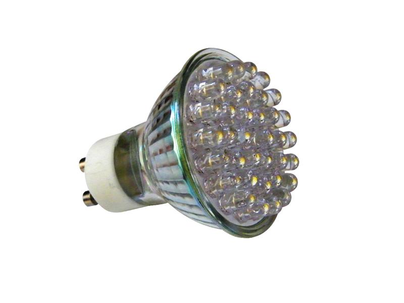 Ampoule LEDS Blanc Chaud 2W MR16 GU10 - réf 66886 EASY CONNECT