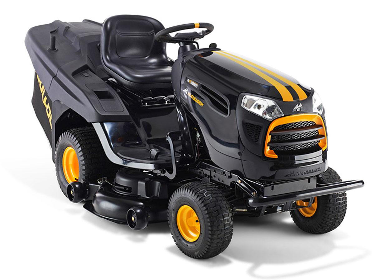Tracteur tondeuse 20 cv - 107 cm - 8 000 m² - Ejection arrière + Bac
