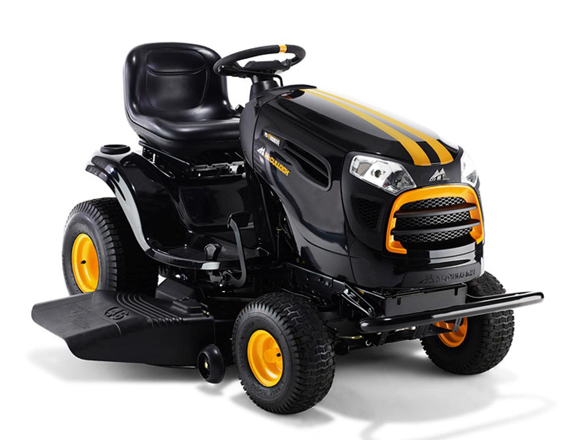 Tracteur tondeuse 20 cv - 117 cm - 8 000 m² - Ejection latérale
