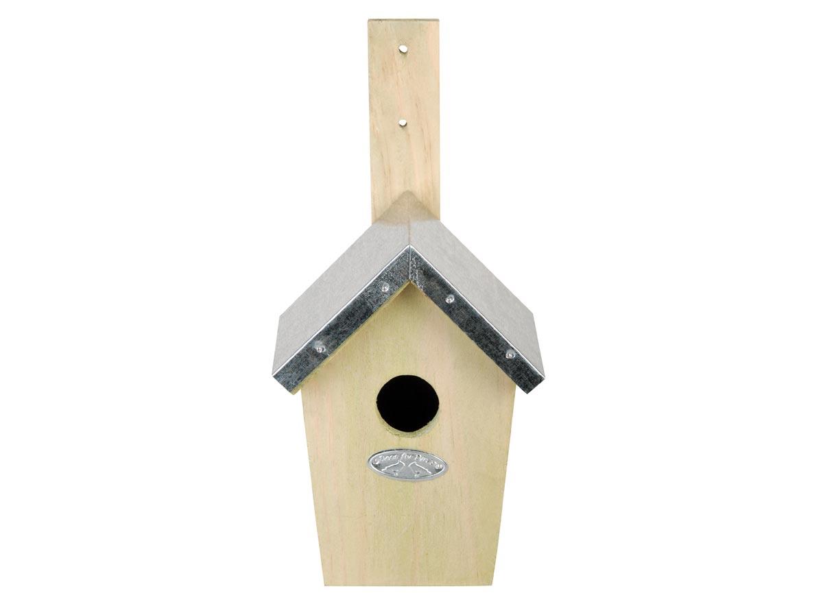 Nk51 Nichoir Nid Cabane Oiseau Bois Couleur Pet Supplies Home & Garden