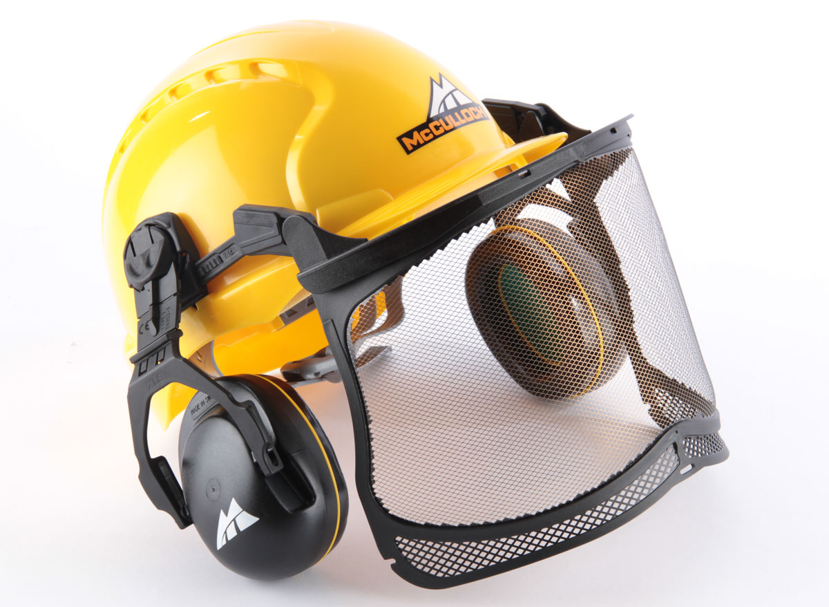 Casque forestier complet MC CULLOCH