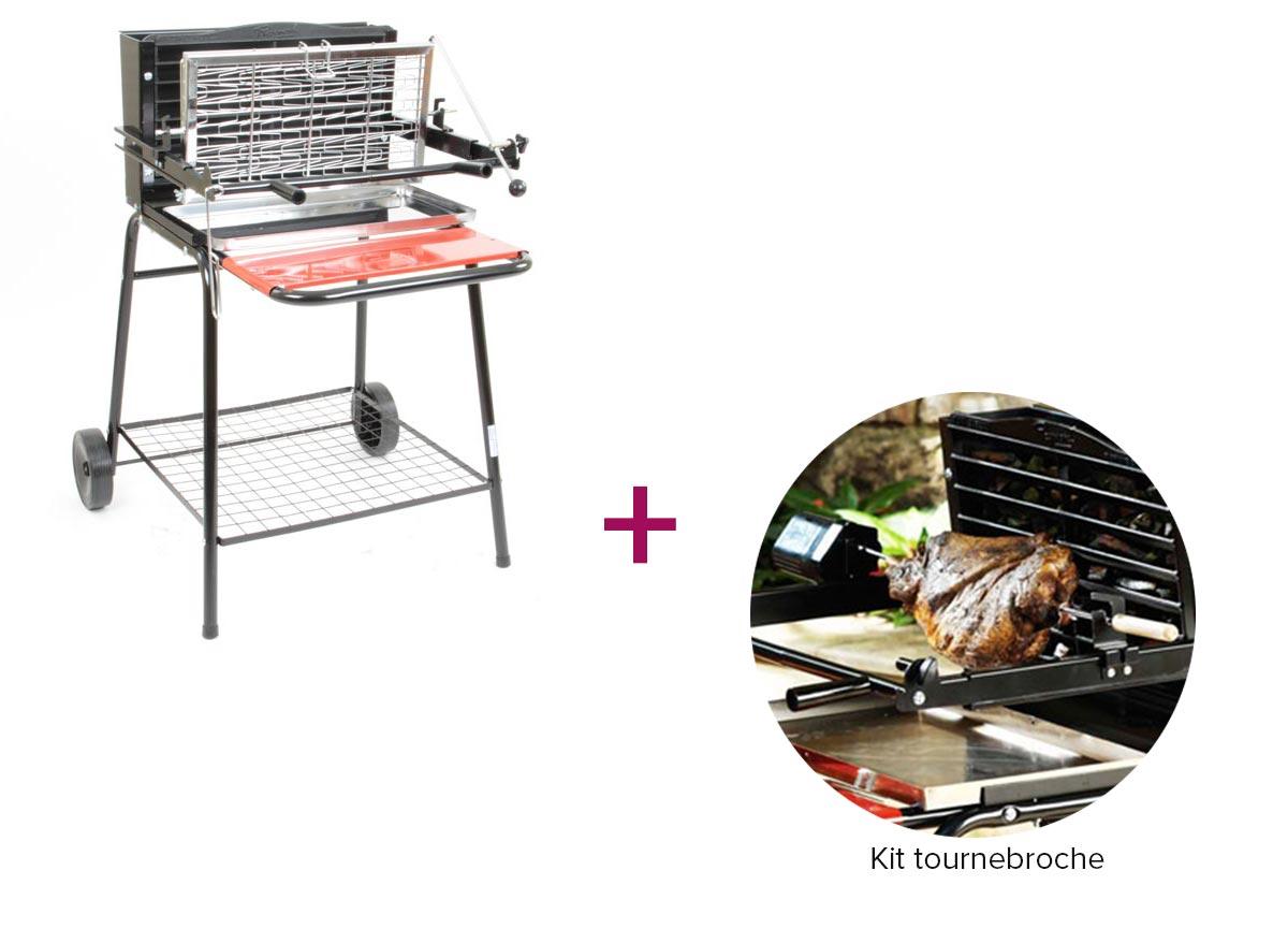 Barbecue vertical Raymond Tourne broche