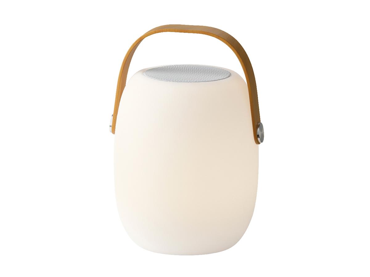 Enceinte d'extérieur lumineuse LED portative connectivité Bluetooth - Jardideco