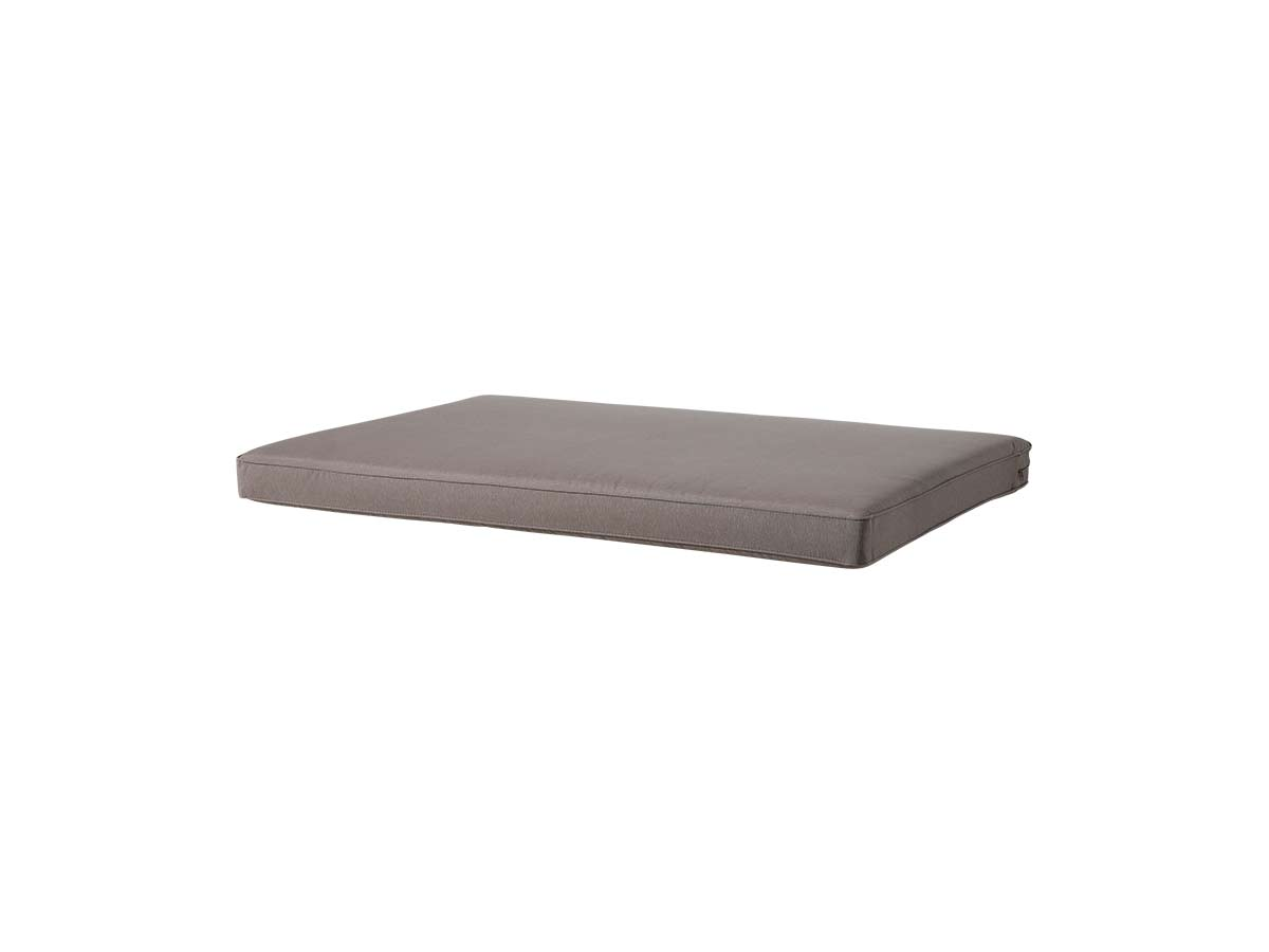 Coussin palette assise Panama Taupe 120 x 80 cm