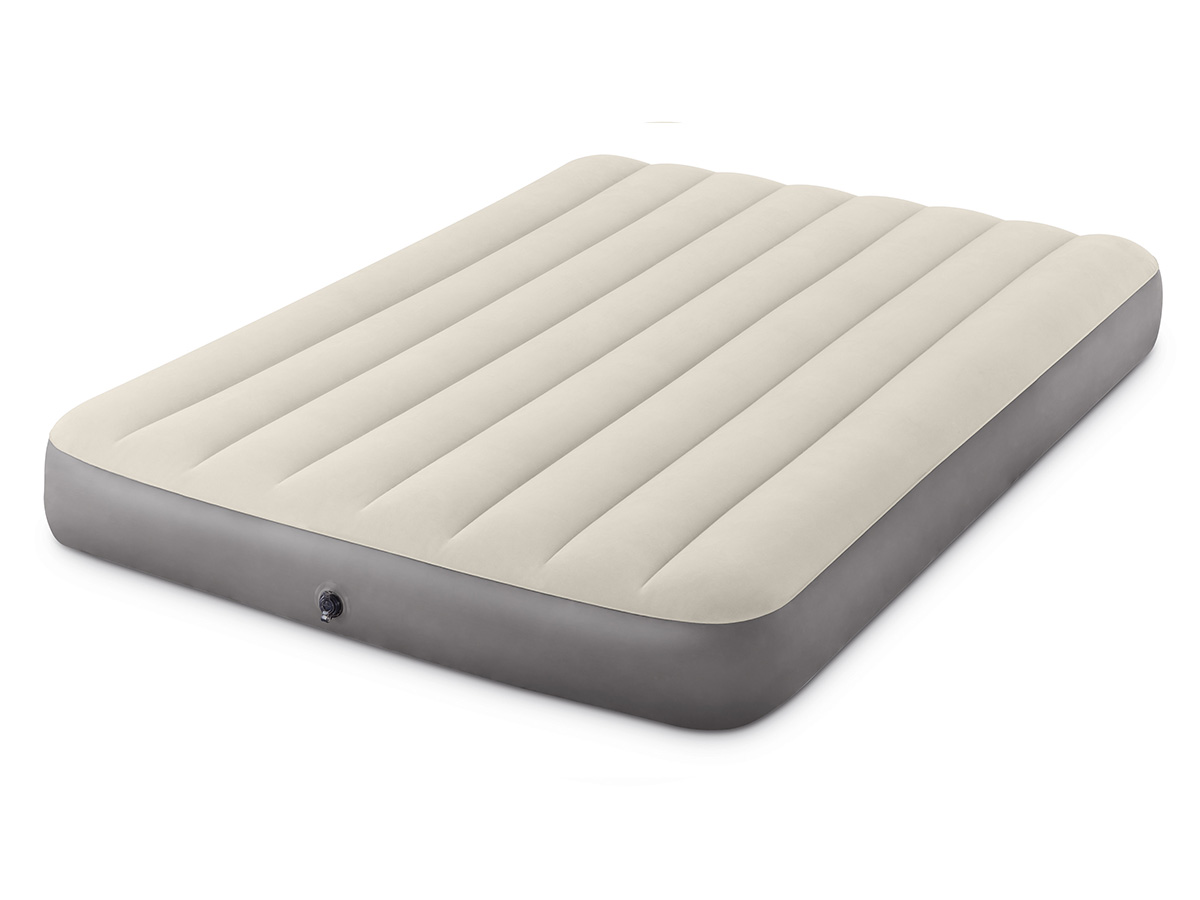 Matelas gonflable Single-High Fiber Tech 2 places - Intex