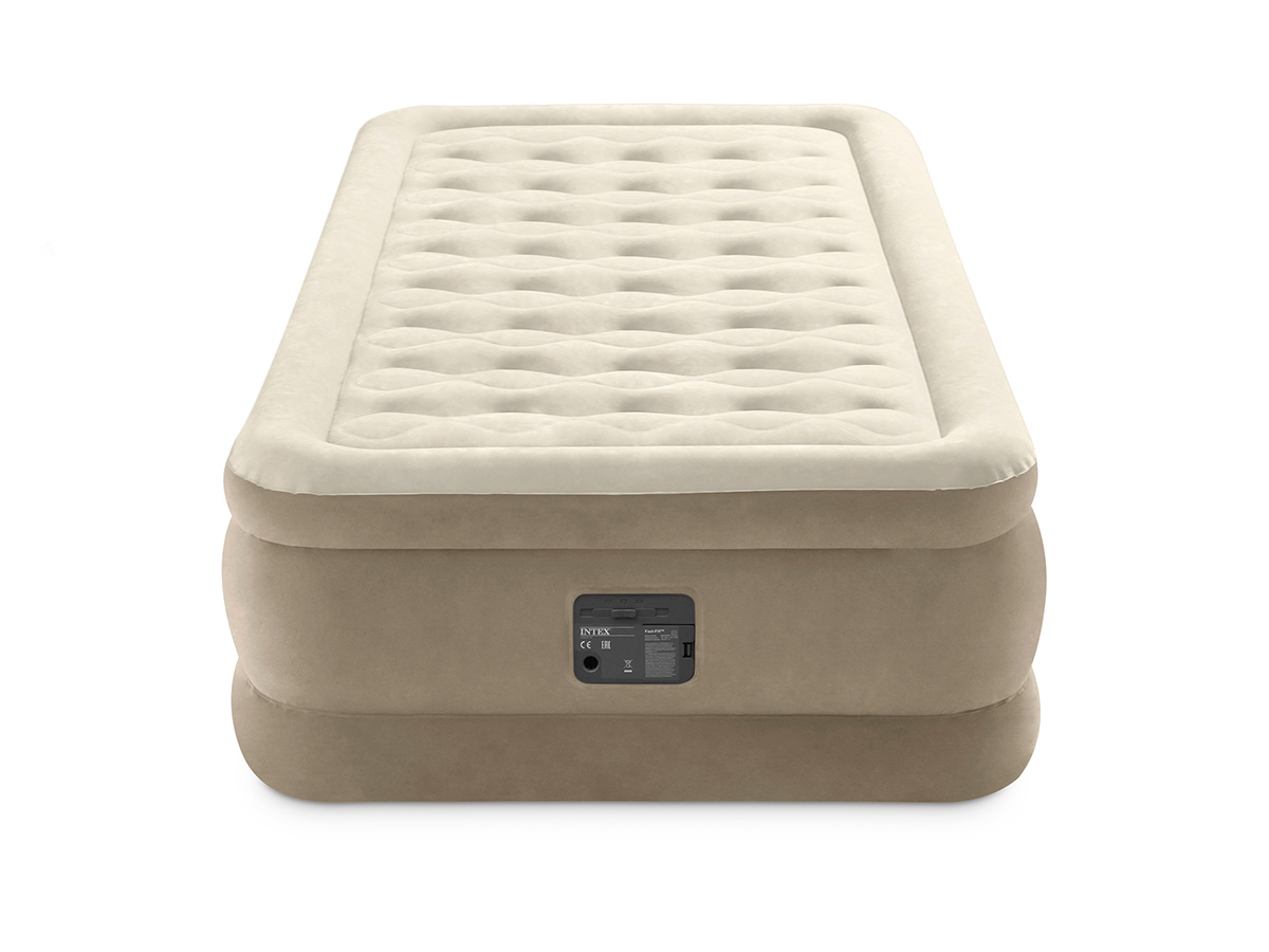Matelas gonflable Ultra Plush Fiber Tech 1 place - Intex