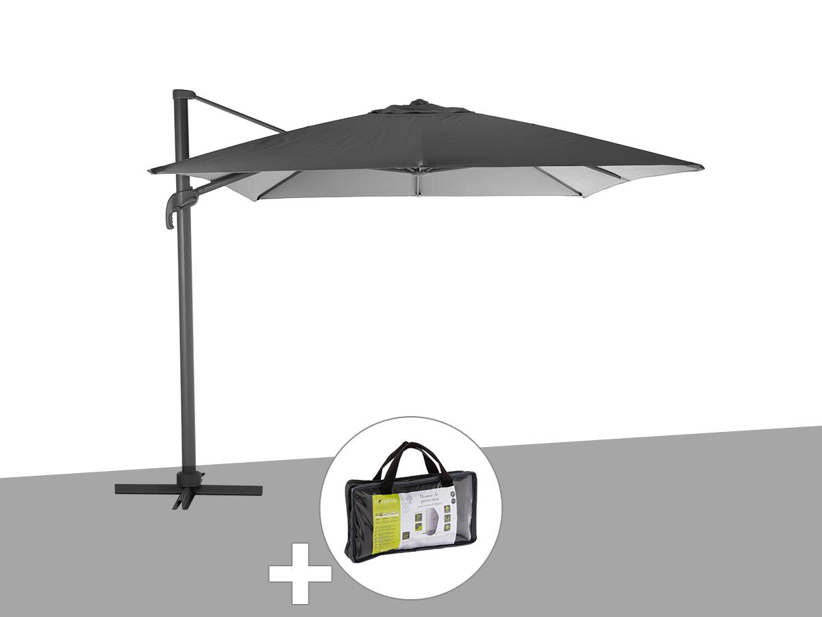 Housse parasol deporte 4x3 parasol equipement et - Parasol deporte rectangulaire 4x3 ...