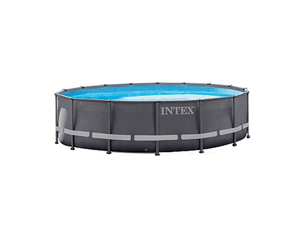 Piscine tubulaire Ultra Frame ronde 4,88 x 1,22 m - Intex