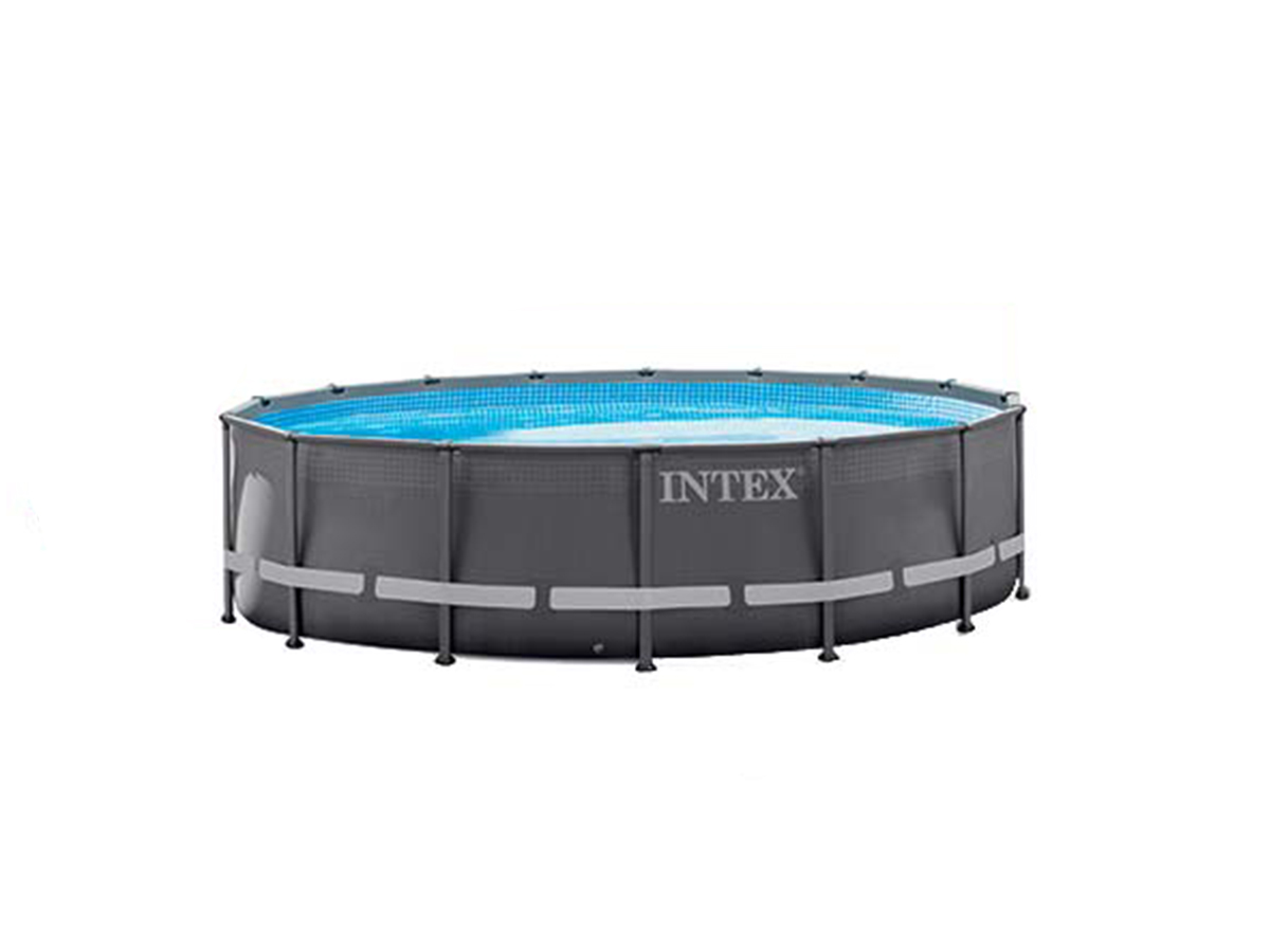 Piscine tubulaire Ultra Frame ronde 5,49 x 1,32 m - Intex