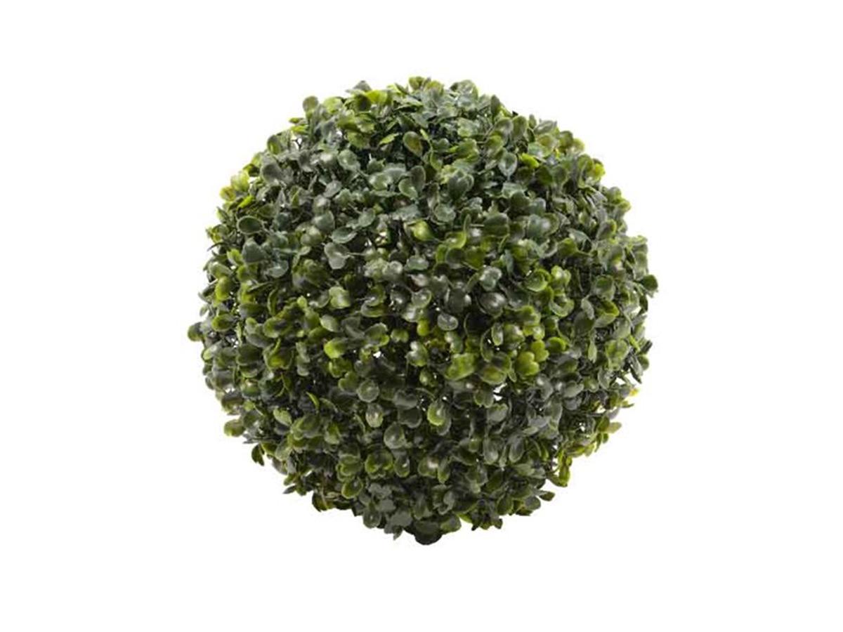 Boule de buis artificielle Ø 26 cm - Jardideco