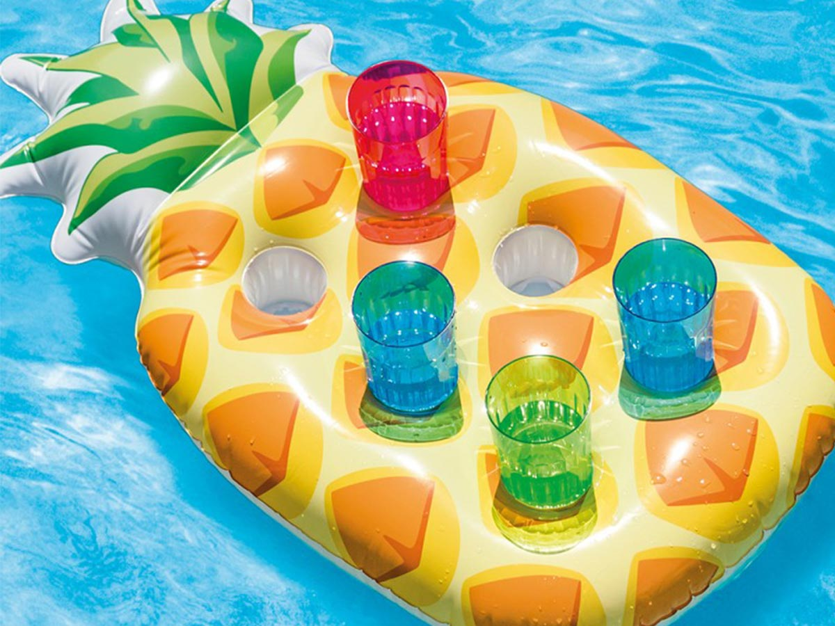 Porte verre gonflable Ananas - Intex