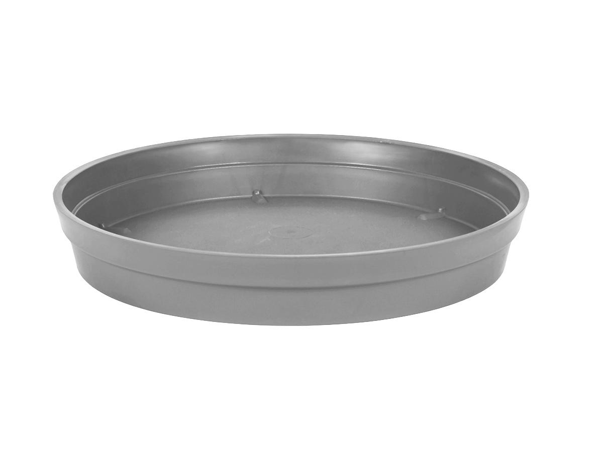 Soucoupe Ø 28 cm pour pot Ø 40 cm - Gris béton