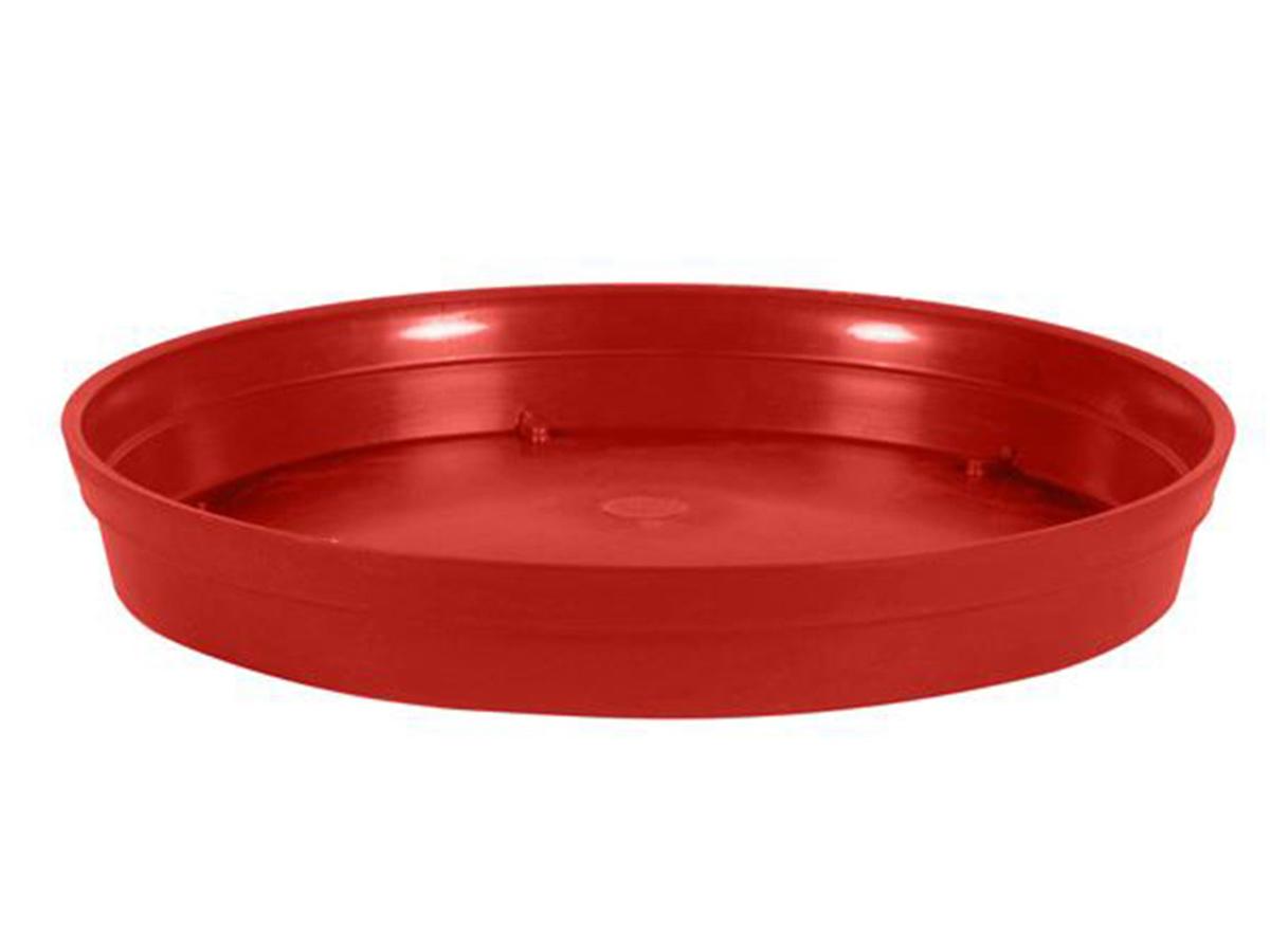 Soucoupe Ø 40 cm pour pot Ø 60 cm - Rouge rubis