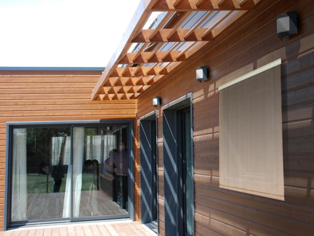 Store d'ombrage 80 x H 180 cm Sable - 165g/m²