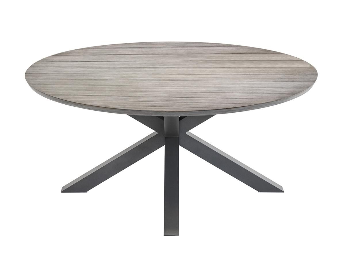 Table de jardin ronde Embruns Ø 160 cm - Hespéride