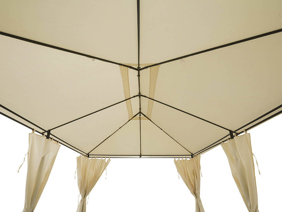 Toile de toit pour la tonnelle Santorini 3 x 4 m Ecru