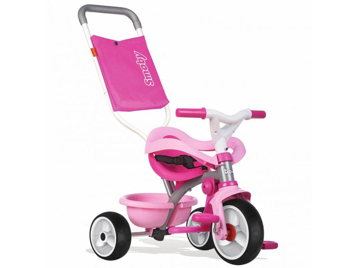 Tricycle enfant Be Move Confort Rose Smoby
