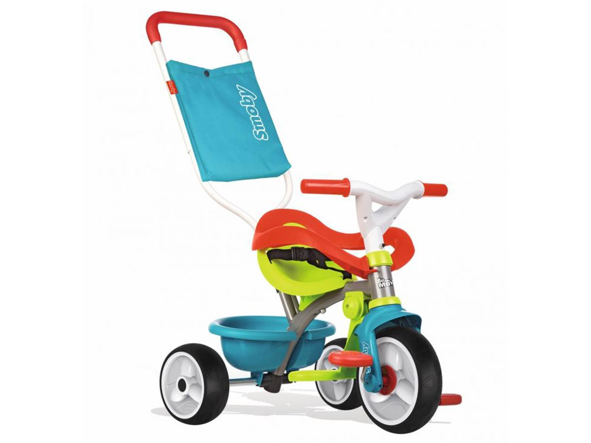 Tricycle enfant Be Move Confort Bleu Smoby