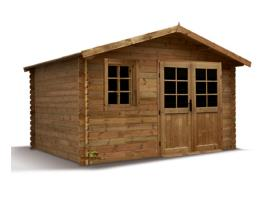 Abri de jardin bois PVC ou métal & abri bûche à petit prix